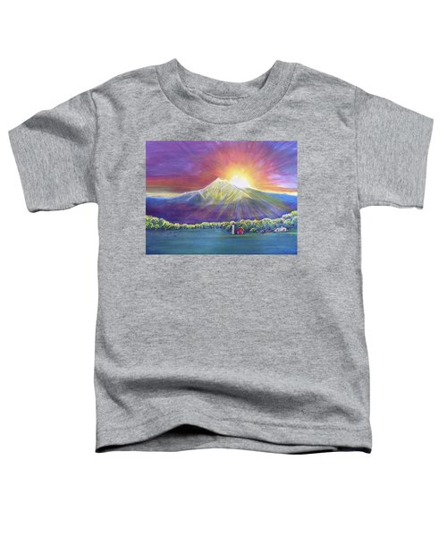 Longs Peak Colorado Toddler T-Shirt