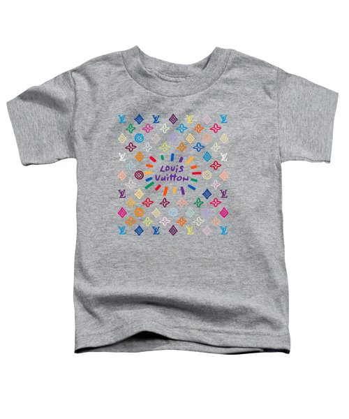 Louis Vuitton Monogram-8 Toddler T-Shirt