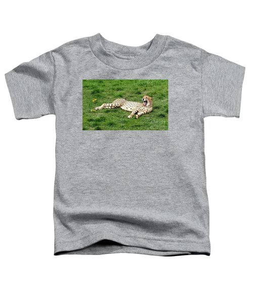 Lounging Cheetah Toddler T-Shirt