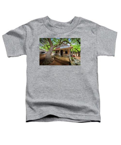 Luckenbach Town Toddler T-Shirt
