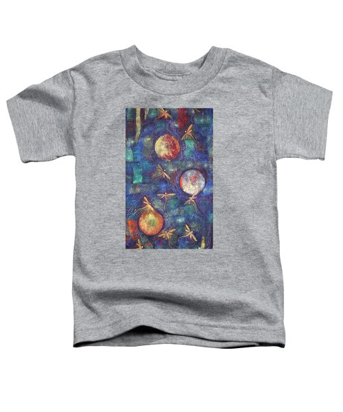 Luminous Dragonflies Toddler T-Shirt