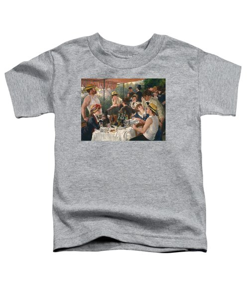 Luncheon Of The Boating Party, 1880-1881 Toddler T-Shirt