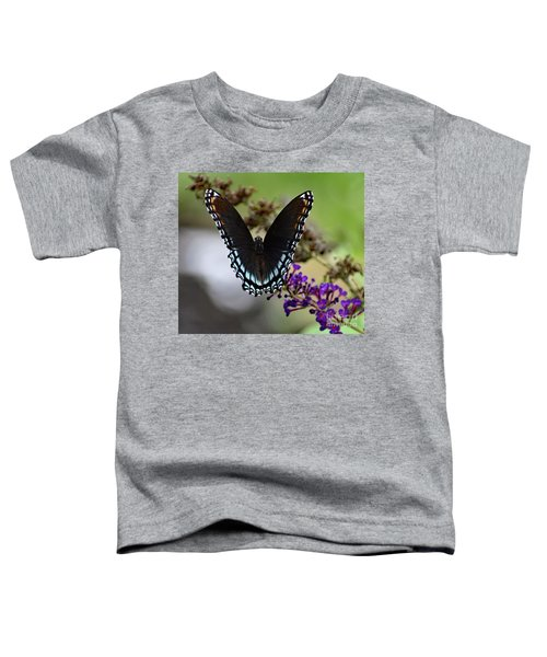 Luxurious Red-spotted Purple Toddler T-Shirt