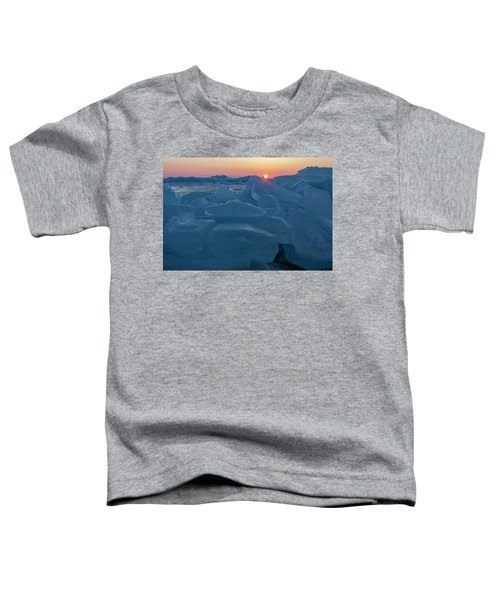 Mackinaw City Ice Formations 21618013 Toddler T-Shirt