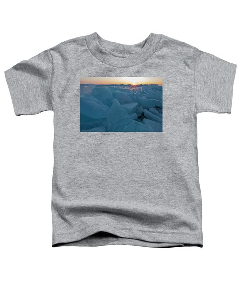 Mackinaw City Ice Formations 21618014 Toddler T-Shirt