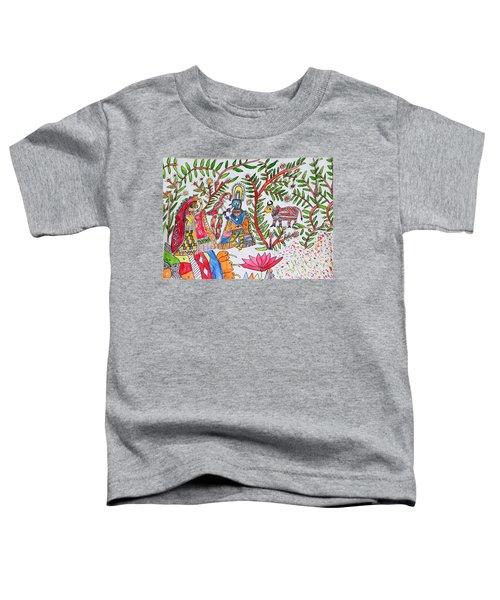 Madhubani Art11 Toddler T-Shirt
