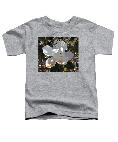 Magnificent Magnolia Toddler T-Shirt