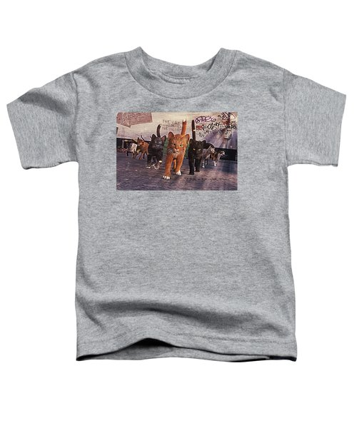 March Of The Mau Toddler T-Shirt
