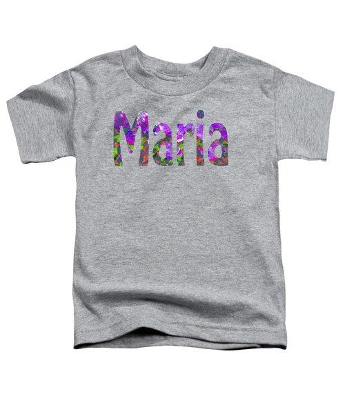 Maria Toddler T-Shirt