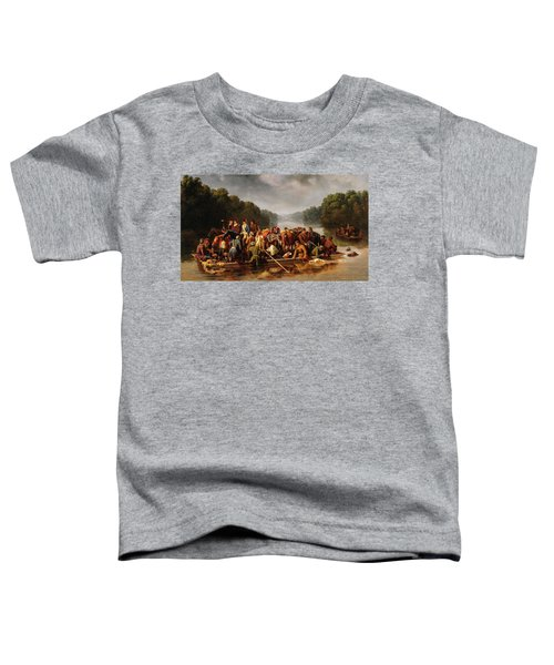 Marion Crossing The Peedee, 1850 Toddler T-Shirt