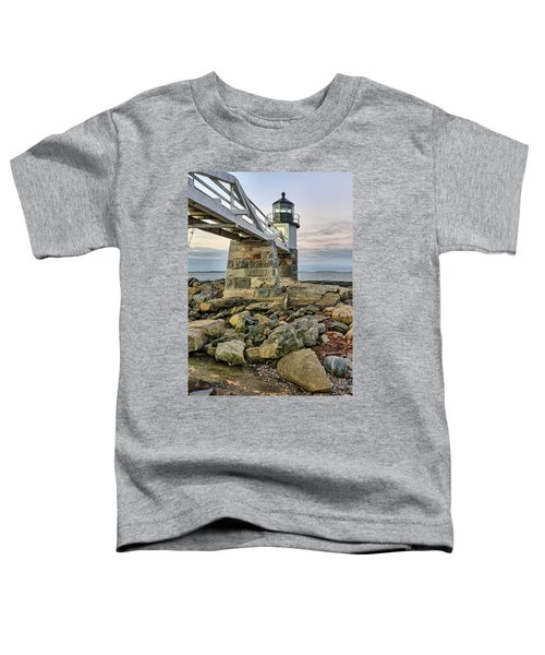 Marshall Point Light From The Rocks Toddler T-Shirt