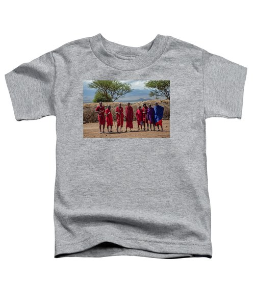 Maasai Men Toddler T-Shirt