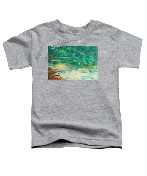 Mid-spring On The New River Toddler T-Shirt