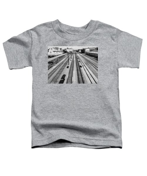 Middle Of The Tracks Toddler T-Shirt