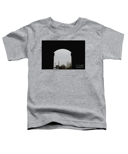 minarets in the city for the prayer of the Muslim religion Toddler T-Shirt