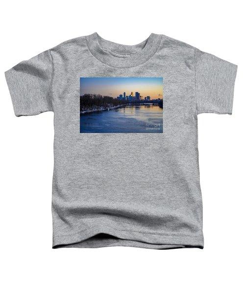 Minneapolis Skyline Toddler T-Shirt