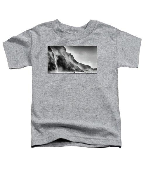 Mist On The Rocks Toddler T-Shirt