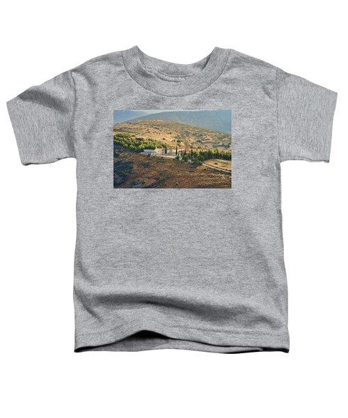 Monastery Agion Anargiron Above Argos Toddler T-Shirt