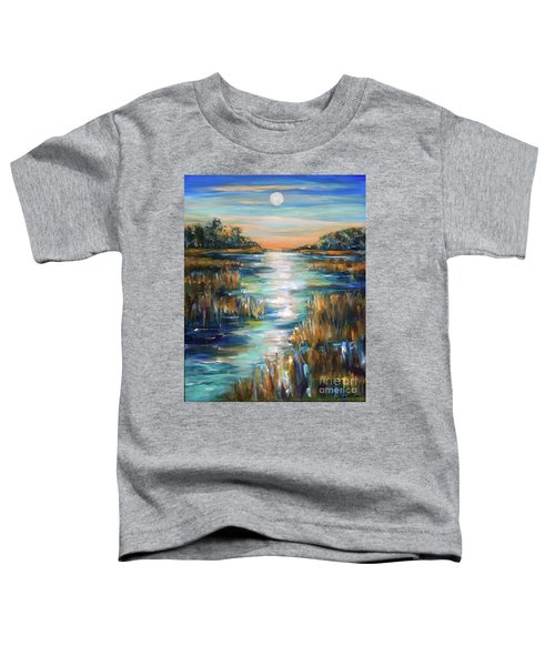 Moon Over Waterway Toddler T-Shirt