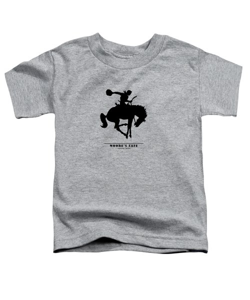 Moores Cafe Wyoming 1946 Toddler T-Shirt