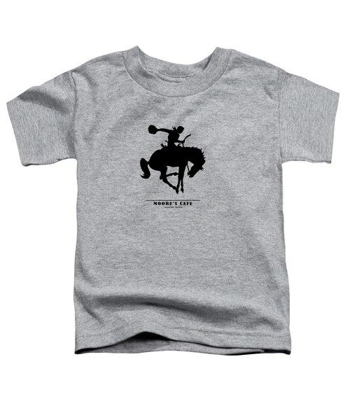 Moores Cafe Wyoming 1946 Toddler T-Shirt