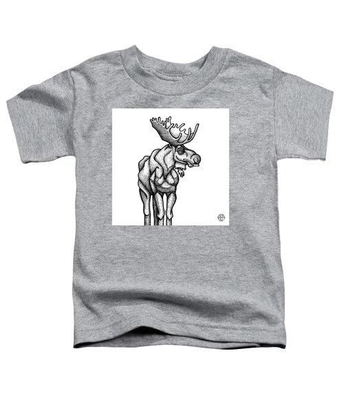 Moose Toddler T-Shirt