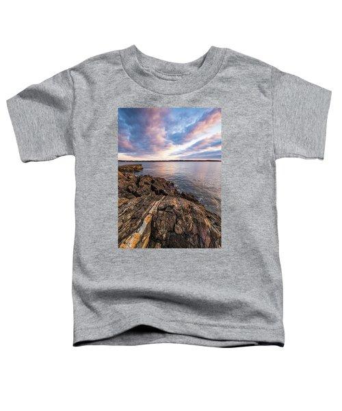 Morning Light Over The Piscataqua River. Toddler T-Shirt