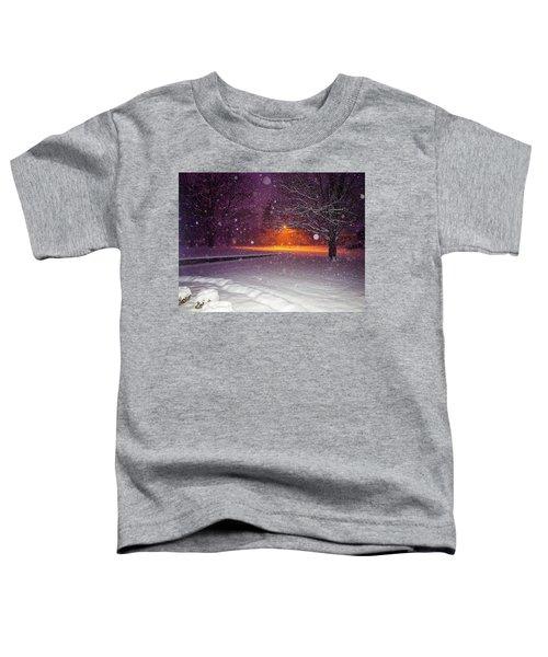 Morning Snow Toddler T-Shirt