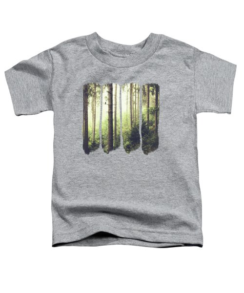 Morning Song - Misty Forest Toddler T-Shirt