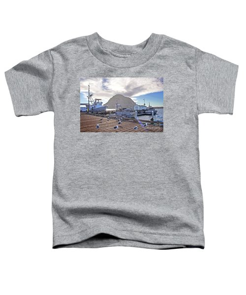Morro Bay Harbor Toddler T-Shirt