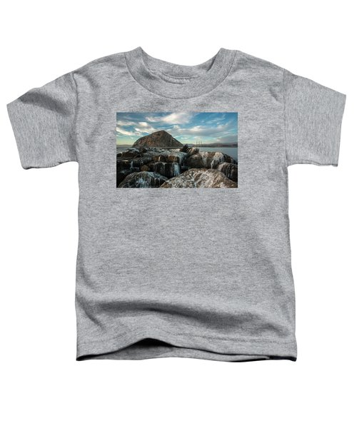 Morro Rock Breakwater Toddler T-Shirt