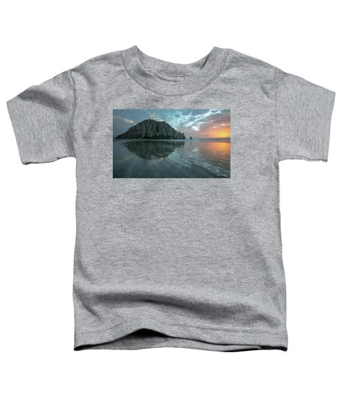 Morro Rock Sunset Toddler T-Shirt