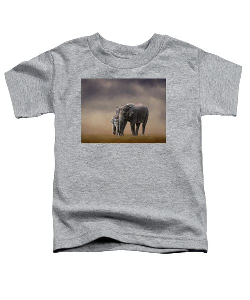 Mother And Son Toddler T-Shirt