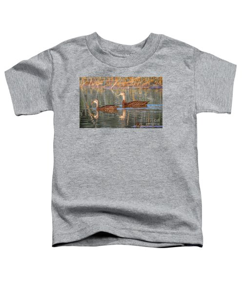 Mottled Duck Reflection Toddler T-Shirt