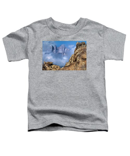Mount Whitney Clearing Storm Eastern Sierras California Toddler T-Shirt