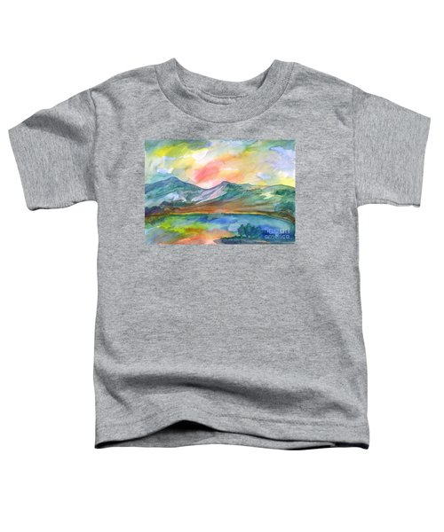 Mountain Lake Toddler T-Shirt