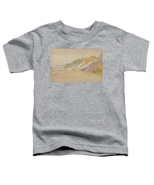 Mountains By The Traveller's Rest Near Dolgelly - Digital Remastered Edition Toddler T-Shirt