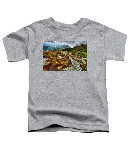Mt. Washington Nh, Autumn Rays Toddler T-Shirt