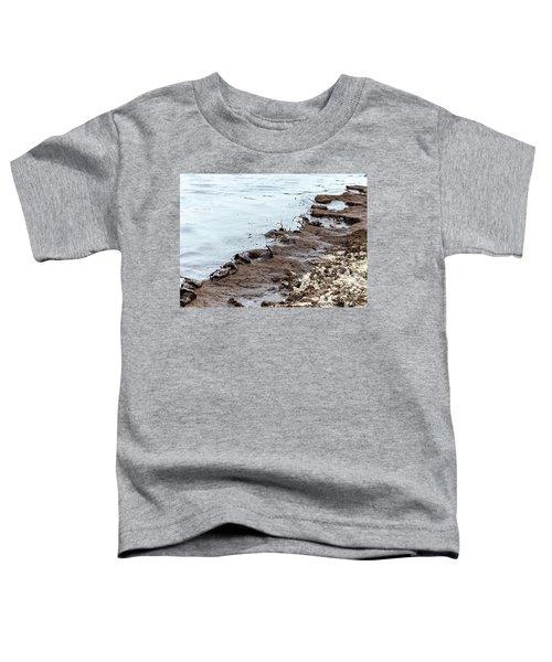 Muddy Sea Shore Toddler T-Shirt
