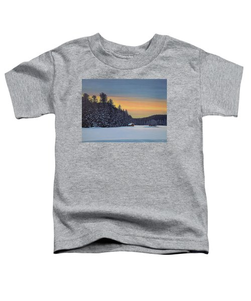 Muskoka Winter Toddler T-Shirt