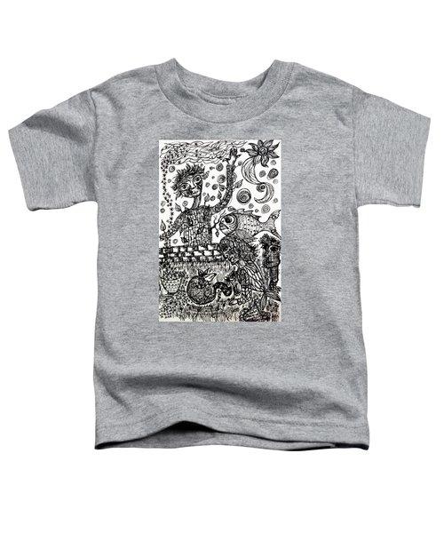 Mute Conversation Toddler T-Shirt