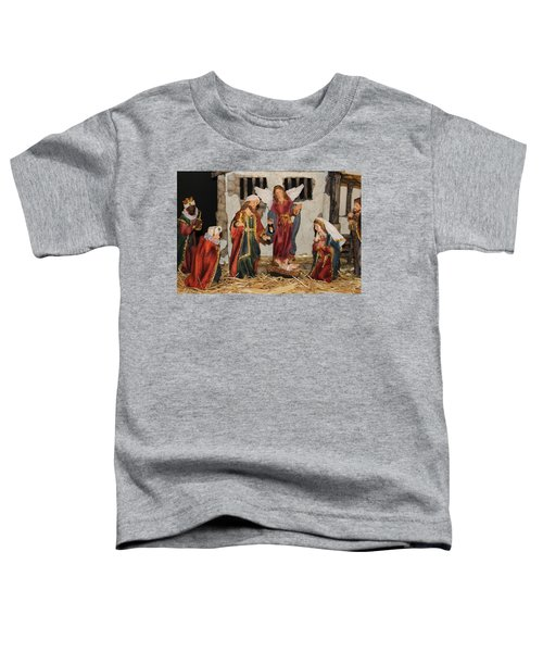 My German Traditions - Christmas Nativity Scene Toddler T-Shirt
