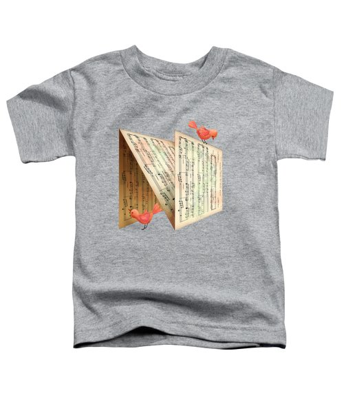 N Is For Notes Toddler T-Shirt