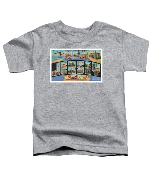 New Jersey Greetings - Version 1 Toddler T-Shirt