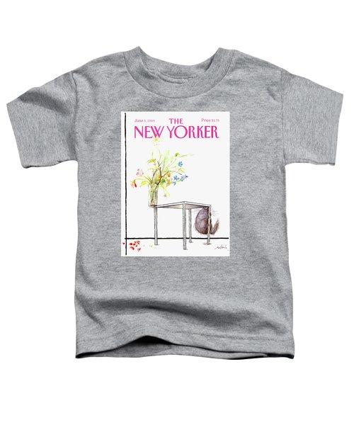 New Yorker Cover June 5 1989 Toddler T-Shirt
