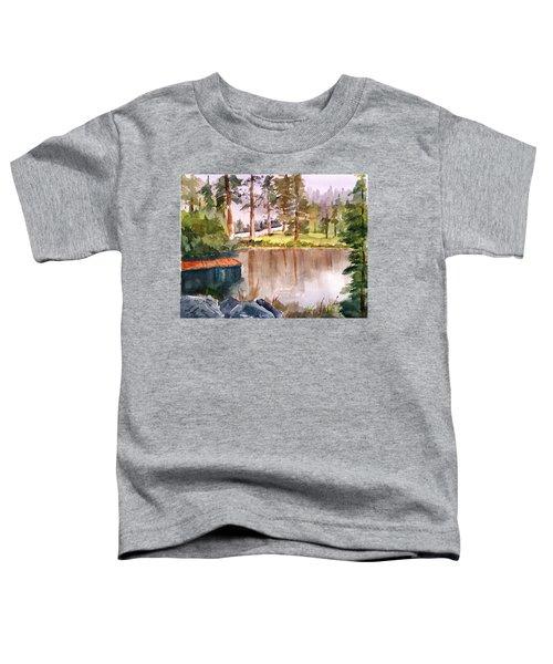 Nez Perce Lake Toddler T-Shirt