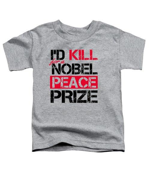 Nobel Prize Toddler T-Shirt