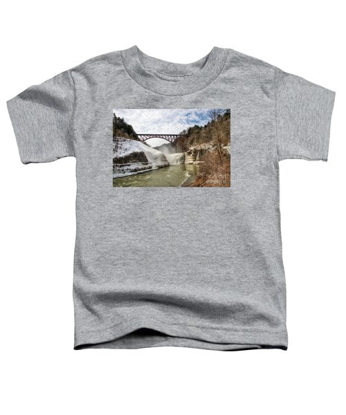 Winter At Letchworth State Park Toddler T-Shirt
