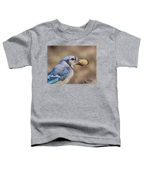 Nutty Bluejay Toddler T-Shirt