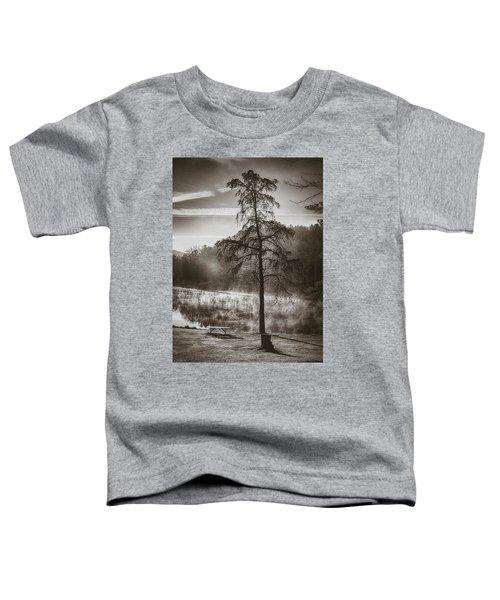 Odd Pair Sepia Toddler T-Shirt